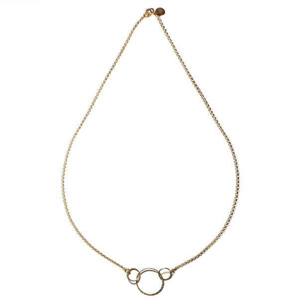Zoe necklace collana rosa castelbarco gioielli